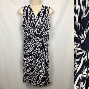 JULIE BROWN Knotted Chain Dress